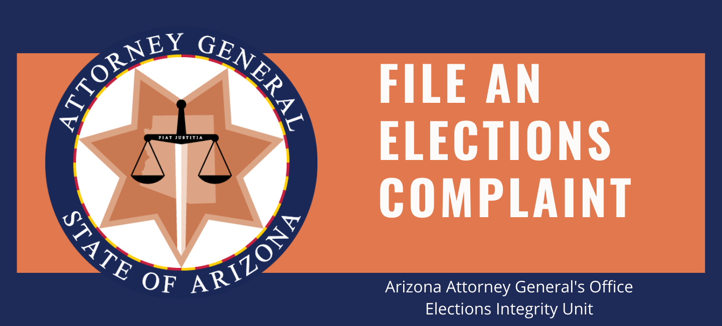 File an Elections Complaint