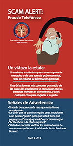 First page of brochure in spanish